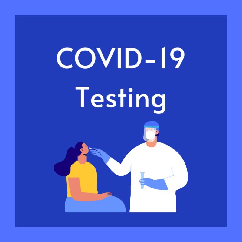 COVID 19 Testing Graphic