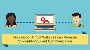 student-to-student communication graphic