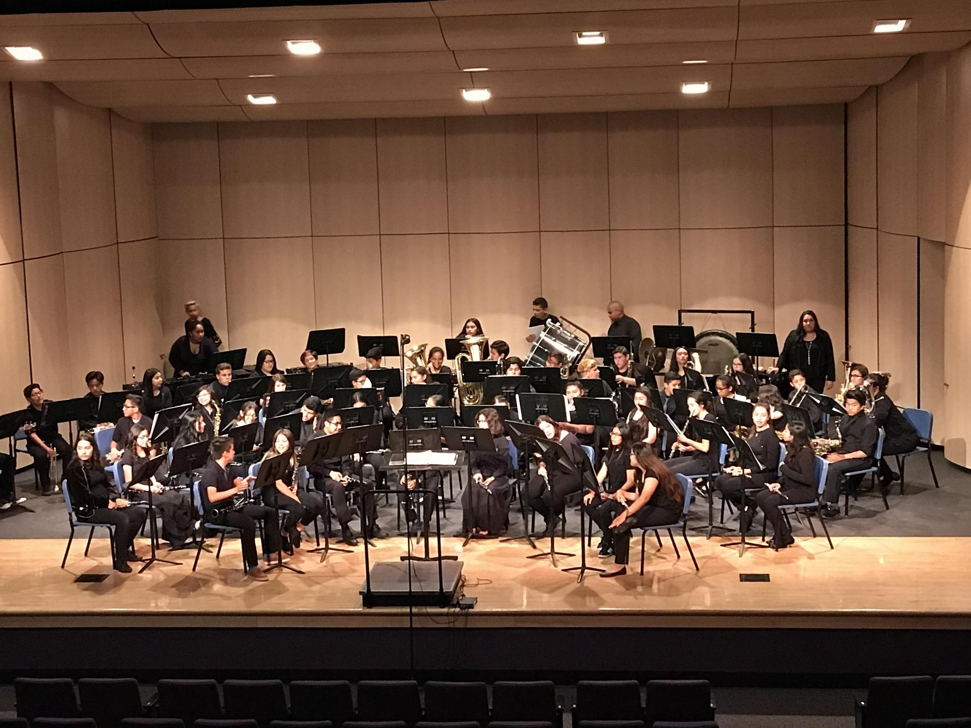 BPUSD Middle School Honor Band concert - May 2018