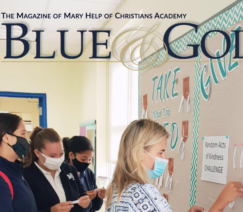 Blue & Gold Magazine Featured Photo