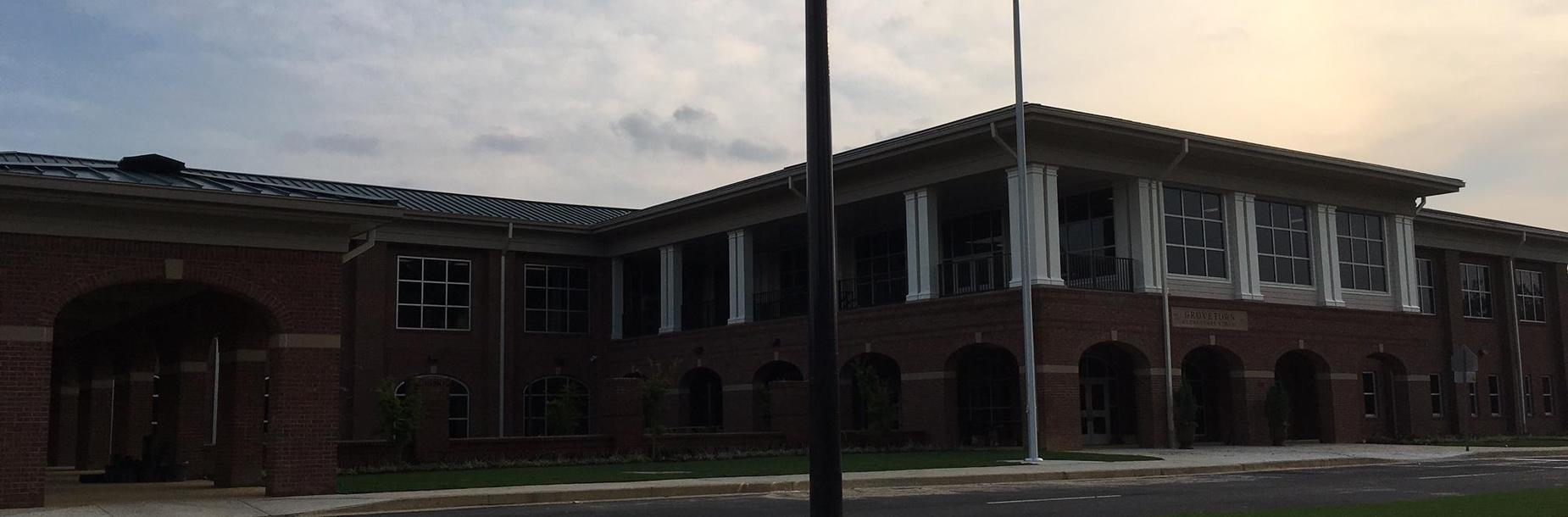 Outside photo of Grovetown Elementary School