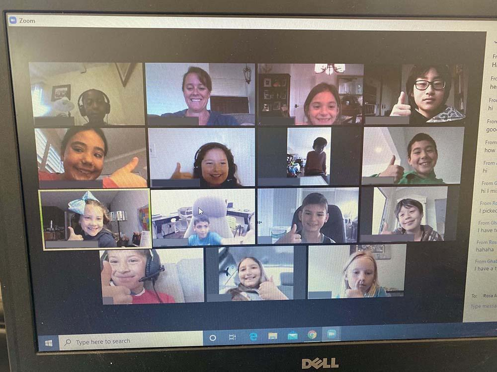 3rd Grade Zoom Session