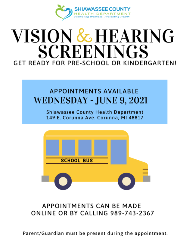 Vision and Hearing Screenings Featured Photo