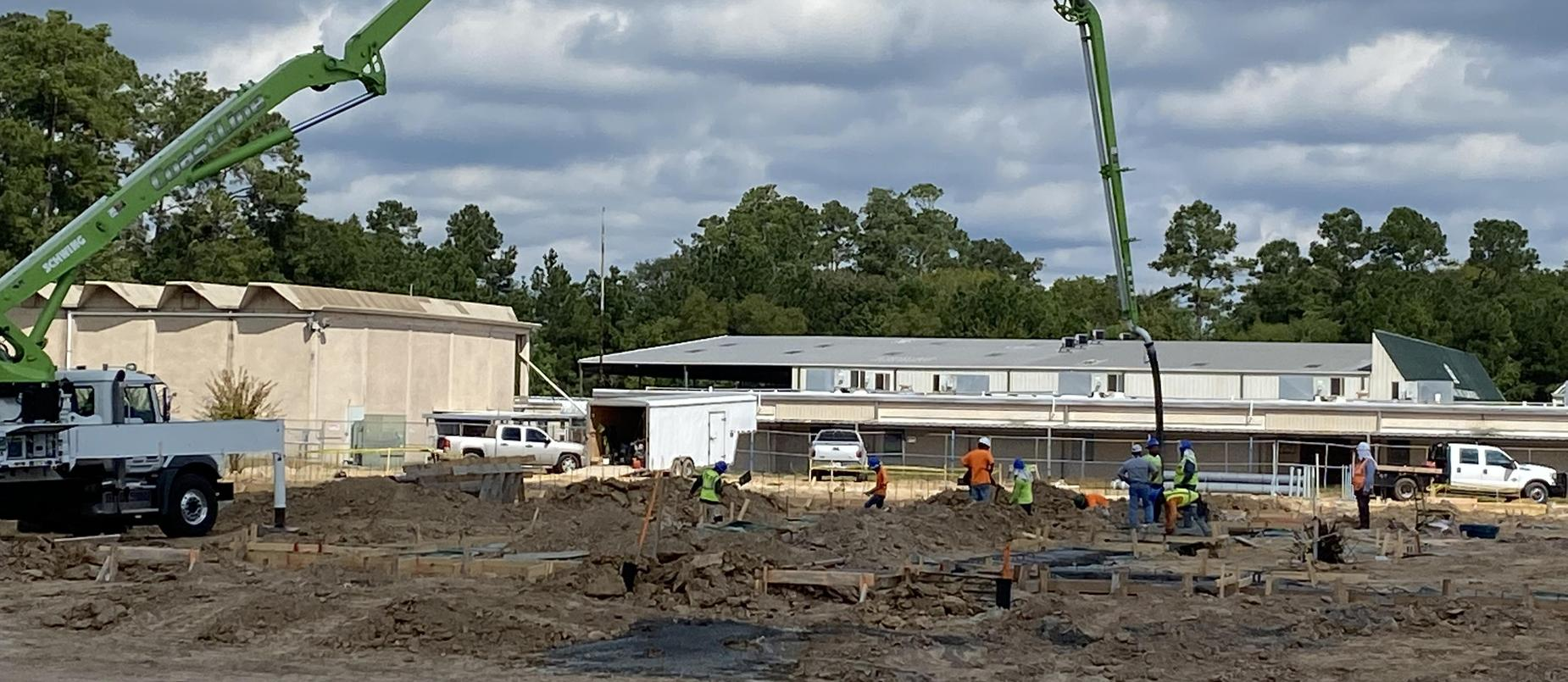 New EC Campus Bond Project