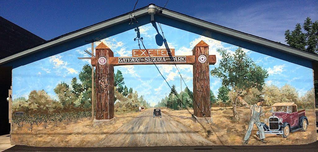 City of Exeter- Gateway to Sequoia National Park Mural