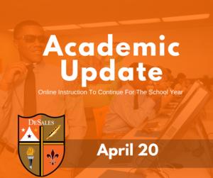 Academic Update April 20