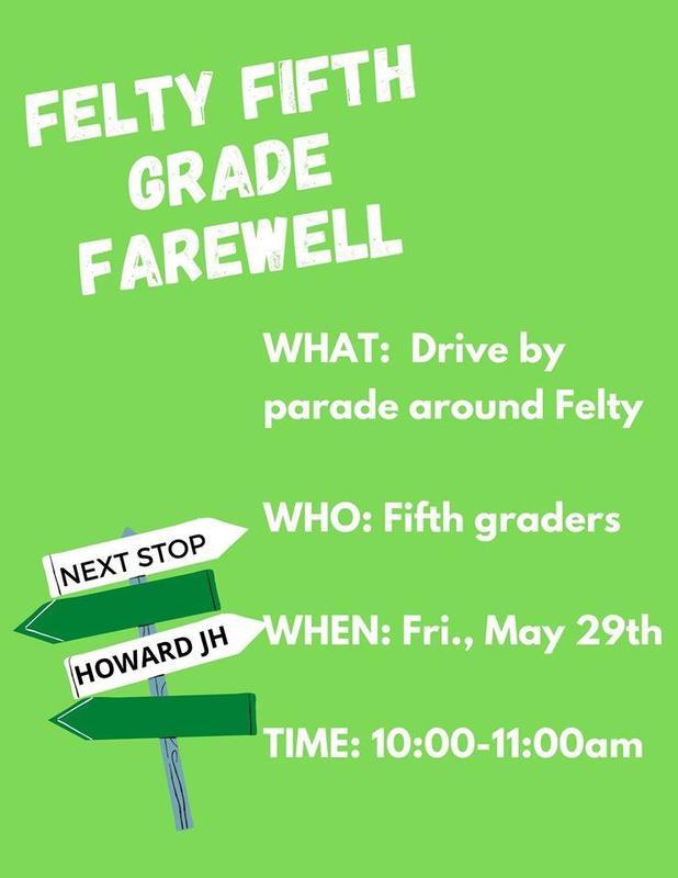 5th grade farewell parade graphic