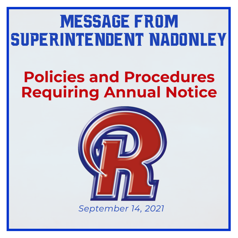 Policies and Procedures Requiring Annual Notice Featured Photo