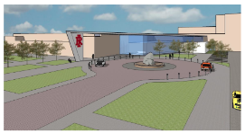 Rock Island High School renovation drawing