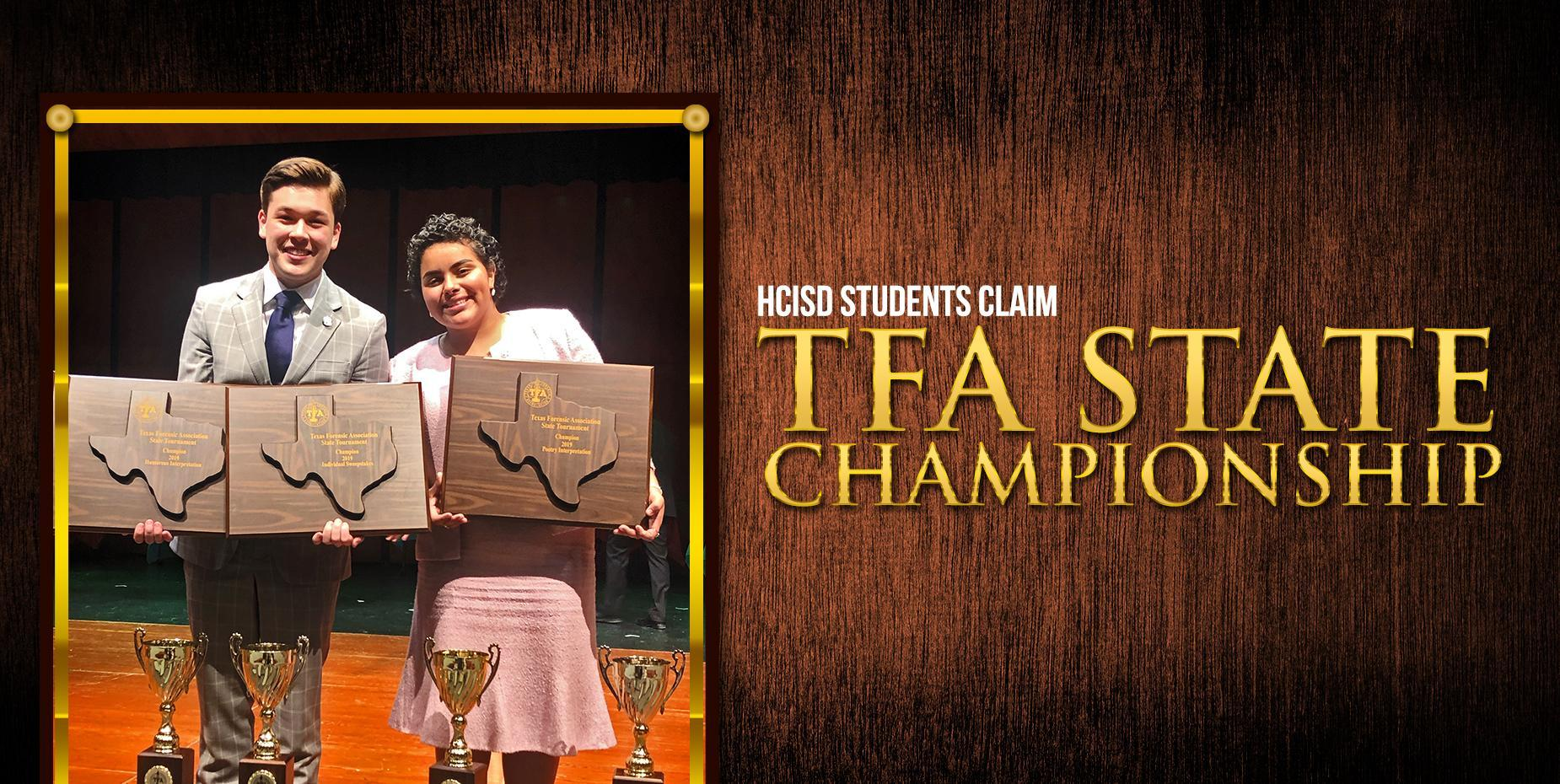HCISD Students Claim TFA State Championship