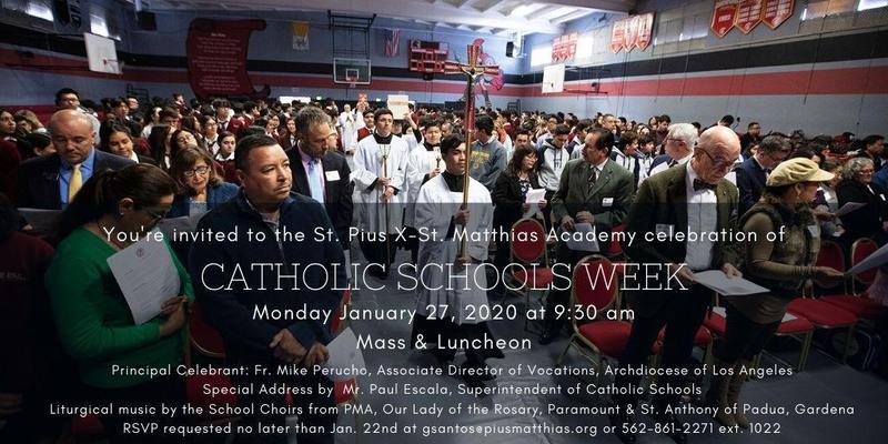 CATHOLIC SCHOOLS WEEK MASS & LUNCHEON Thumbnail Image