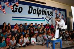 School Assemblies, funded with help from Oceano PTA