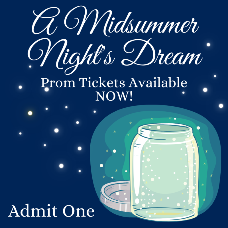 Prom 2021 Tickets Available