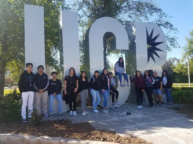 GS students visit UC Riverside Featured Photo