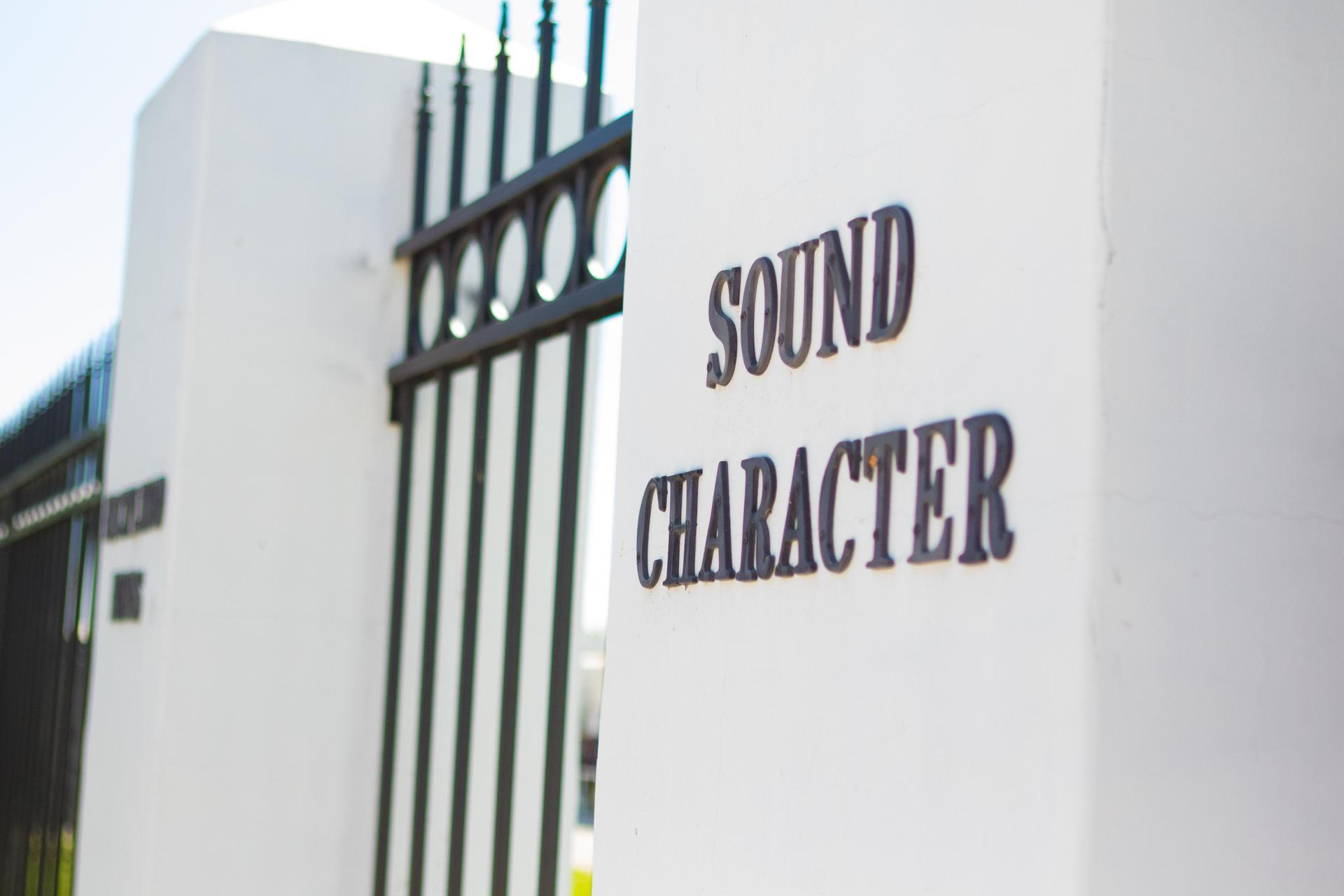 Sound Character Pillar