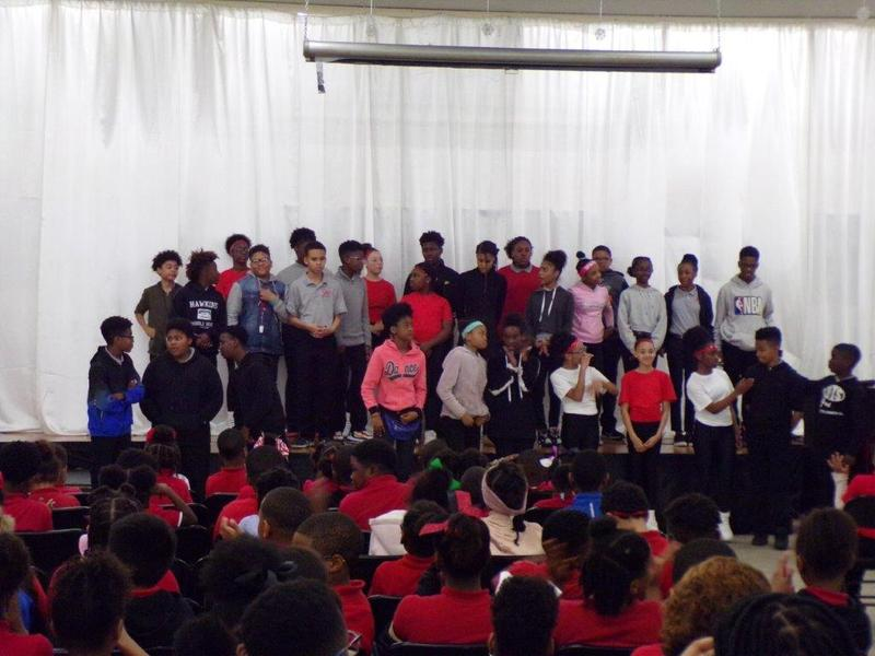 A photo from Park Ridge's 2020 Black History Program