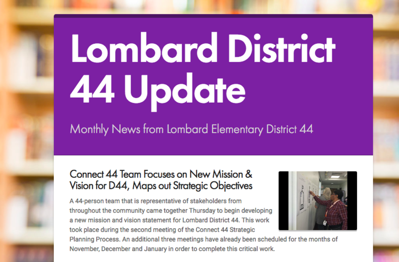 Lombard District 44 October Newsletter Thumbnail Image