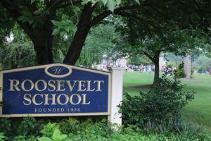Roosevelt Intermediate School sign