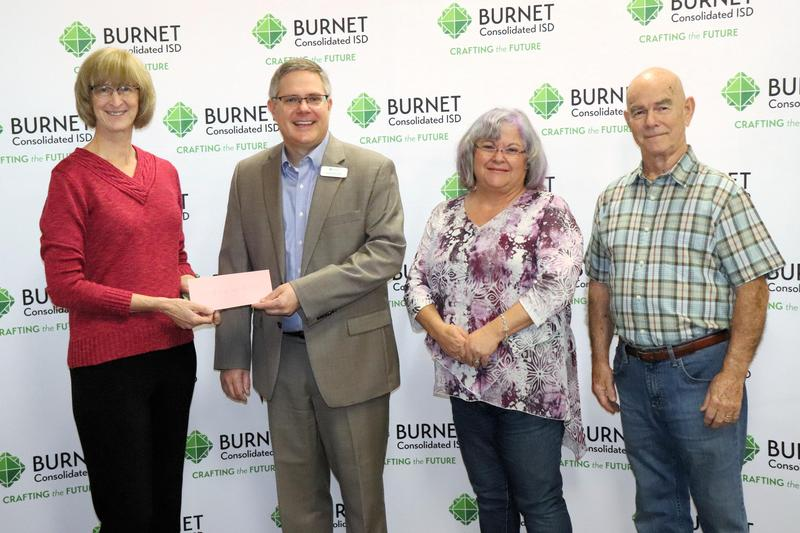 BAM Presents Check to BCISD Thumbnail Image