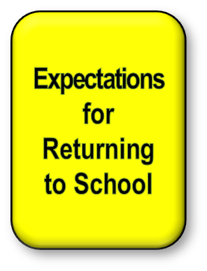 Expectations for Returning to School