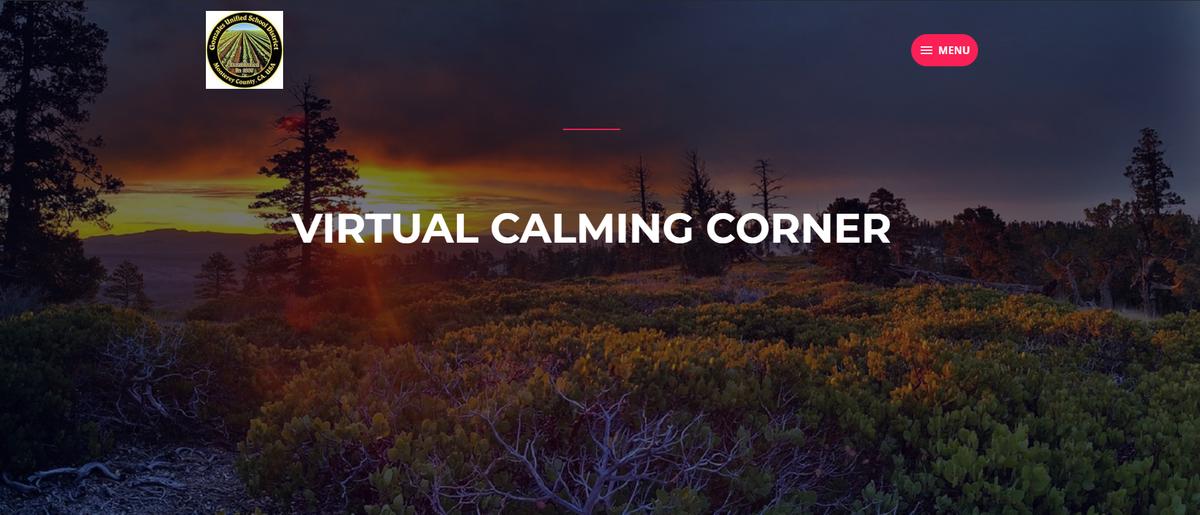 Virtual Calming Corner
