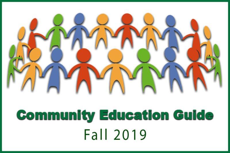 Register Now for New Community Ed. Classes Thumbnail Image
