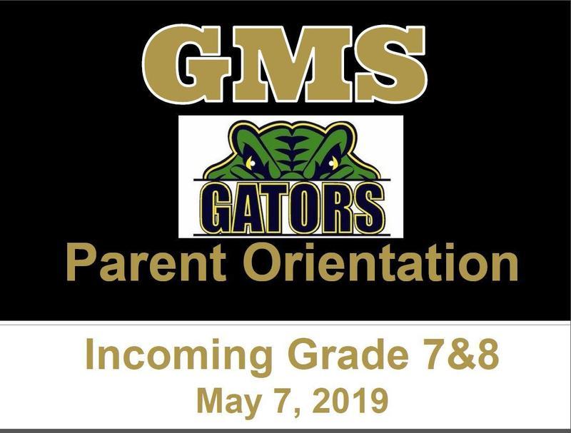 Parent Orientation - May 7, 2019 Thumbnail Image