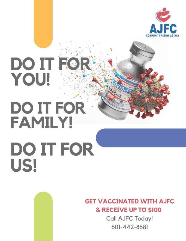 AJFC Vaccination Incentive Program