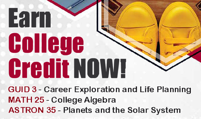 Earn College Credit Now at Chaffey College