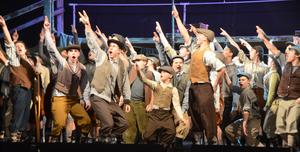 Pope John Newsies pic 2