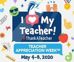 Teacher Appreciation Week Flyer, May 4-8