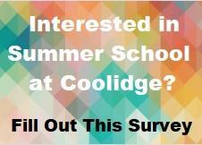 Complete this Summer School Survey by Friday, April 23rd Featured Photo