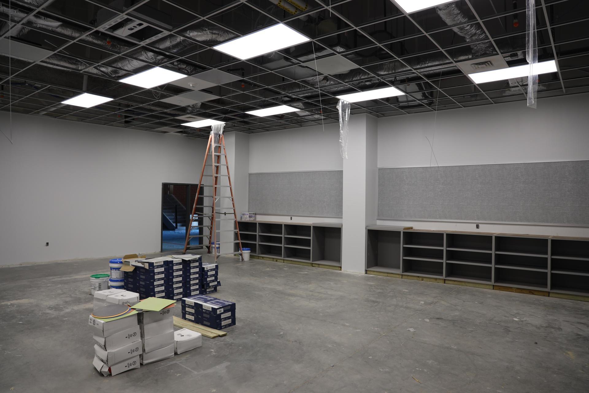 Carpenter Elementary construction update photos