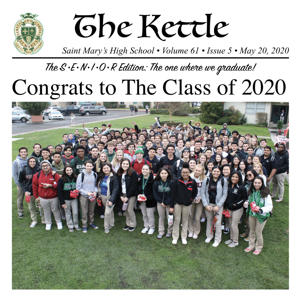 Kettle #5 - Senior Issue