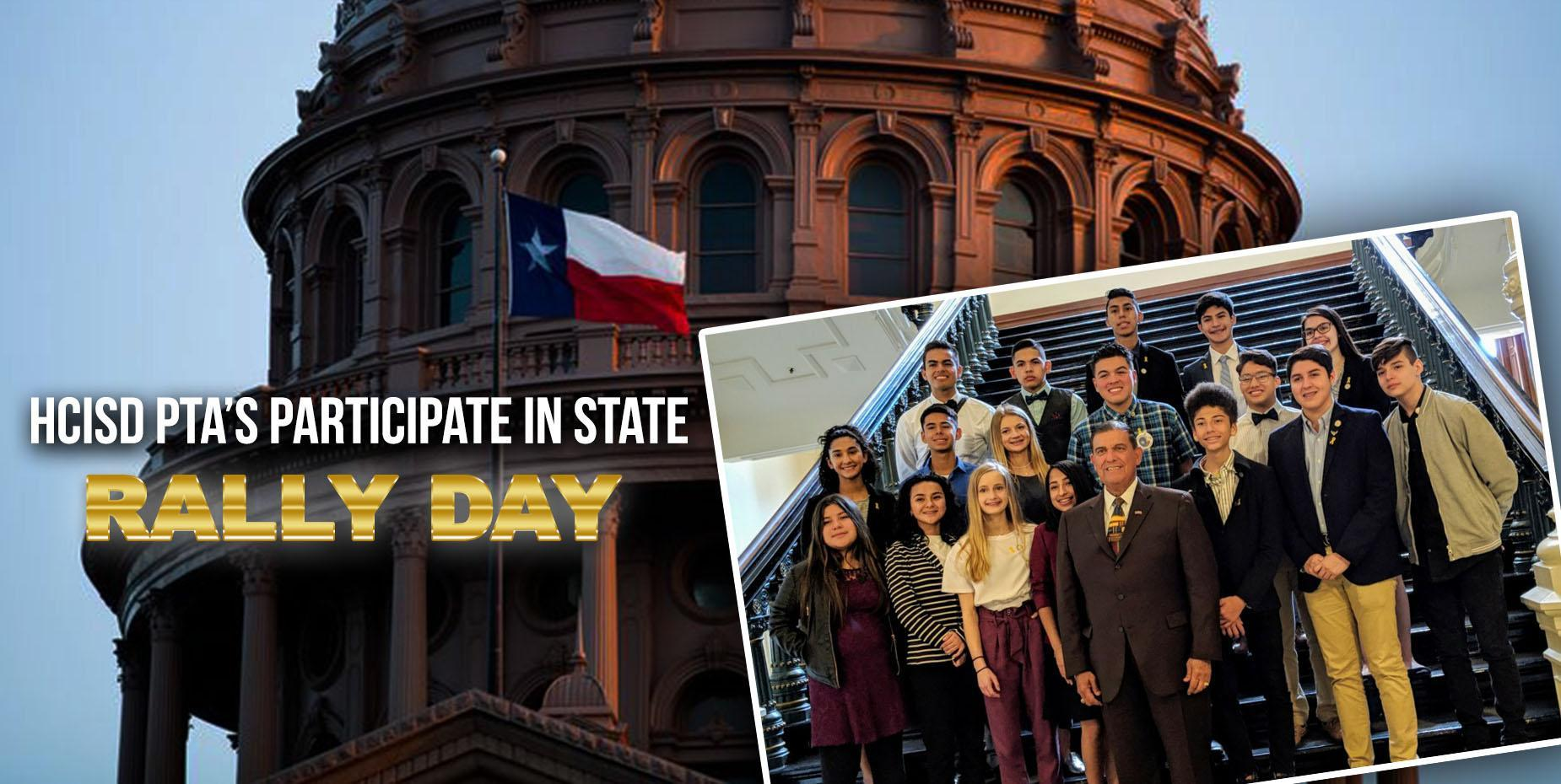 HCISD PTA'S Participate in State Rally Day