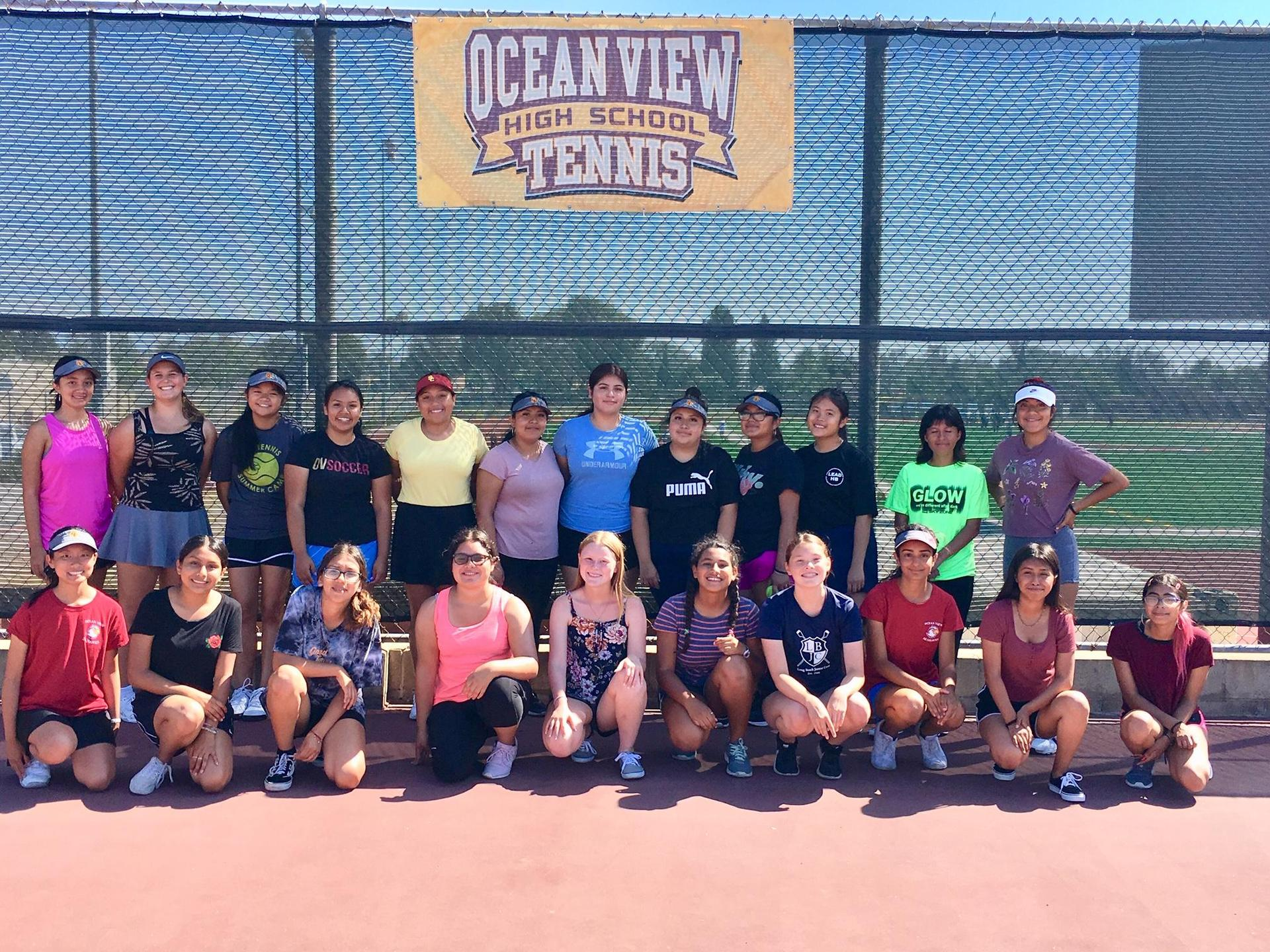 Girls' Tennis Team