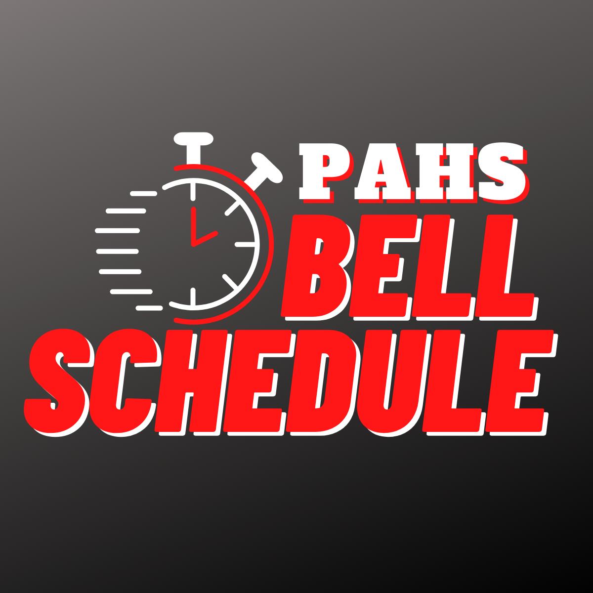 PAHS Bell Schedule