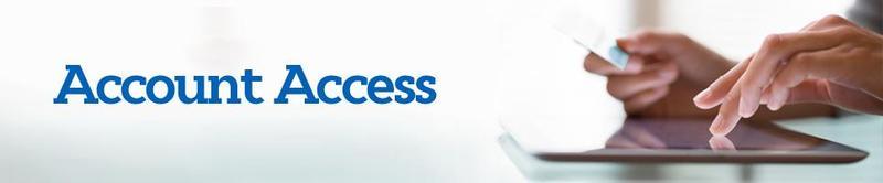 image saying account access