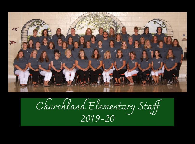 Image of Churchland Elementary 2018-19 Staff