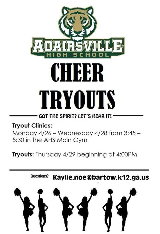 Cheer Tryout Information 2021 Featured Photo