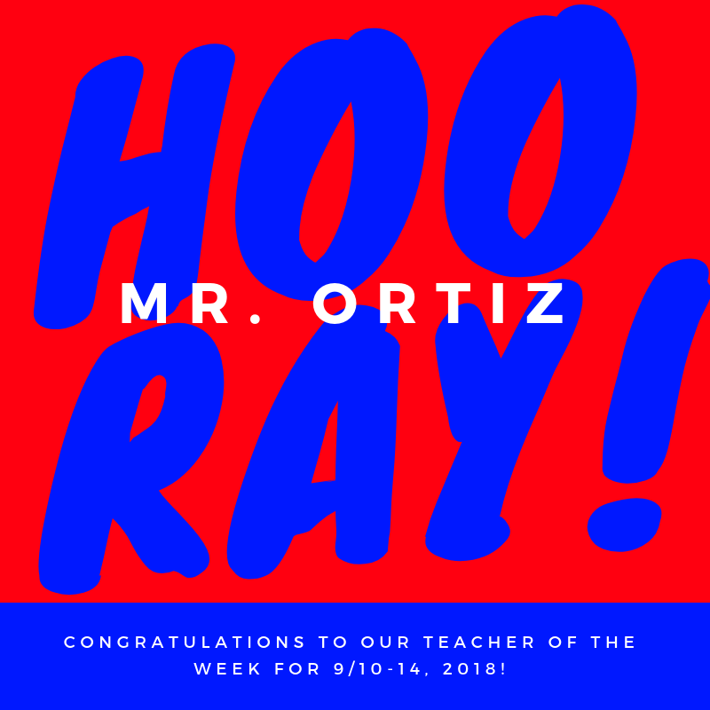 Hats Off to Mr. Ortiz! Thumbnail Image