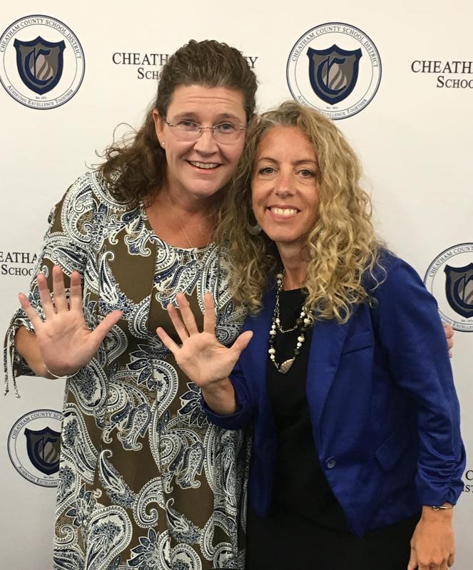 SMS Principal Robyn Miller and Assistant Principal Mandi Batson