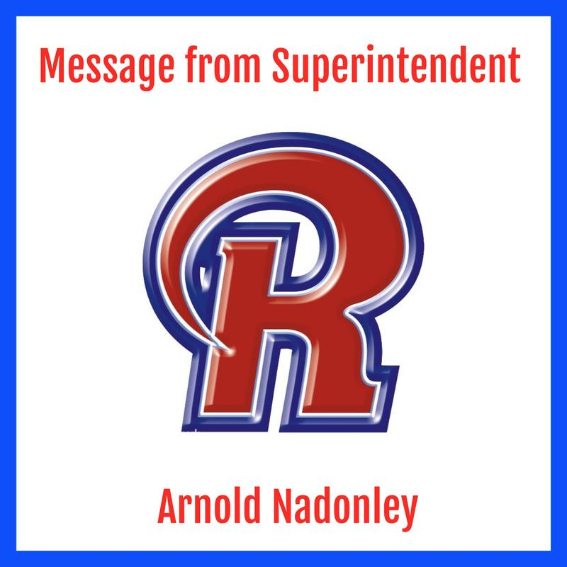 Message from the Superintendent - 1/9/2020 Featured Photo
