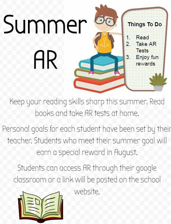 Summer Accelerated Reader Link for Jordan Students