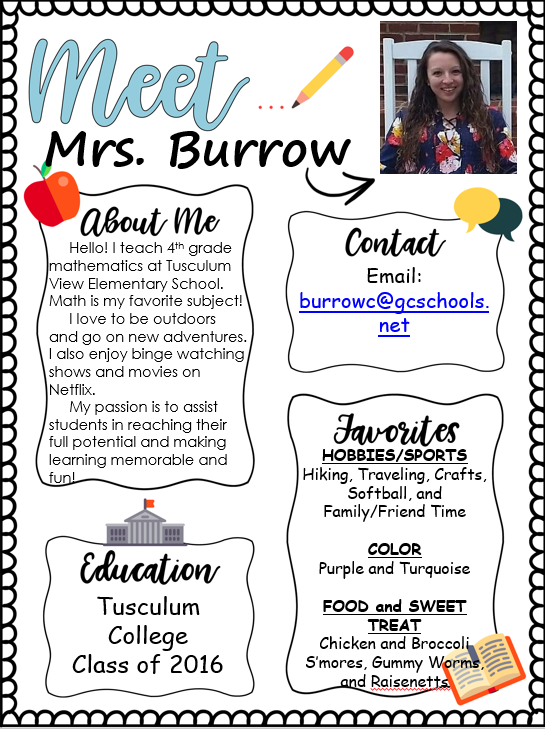 Learn About Mrs. Burrow