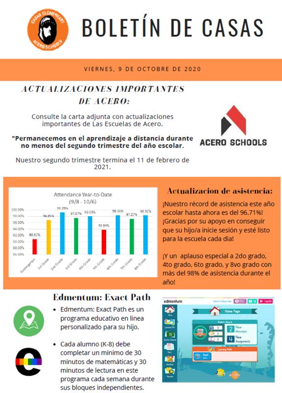 Friday Folder Flyer in Spanish
