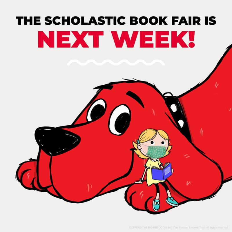 In-Person Book Fair is next week.