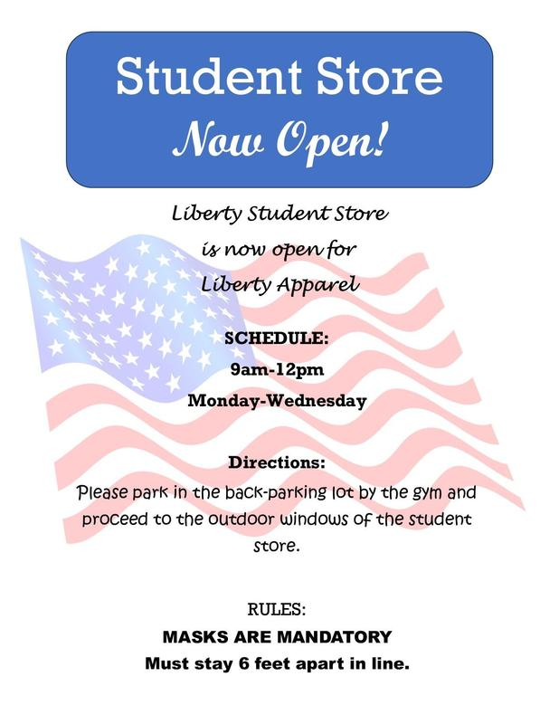 Student Store Flyer