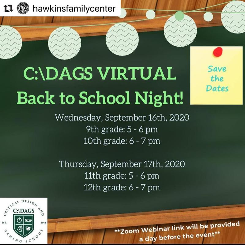 CDAGS Virtual Back to School Nights Featured Photo
