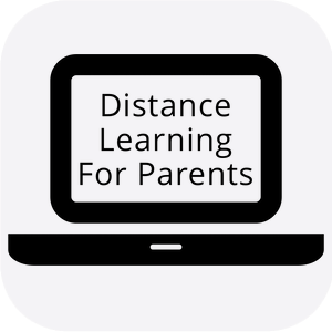 Distance Learning for Parents button
